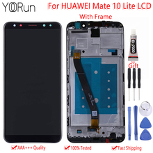 цена на Original 5.9 For Huawei Mate 10 Lite RNE L01 L02 L03 L21 LCD Display Touch Screen Digitizer Assembly With Frame Replacement