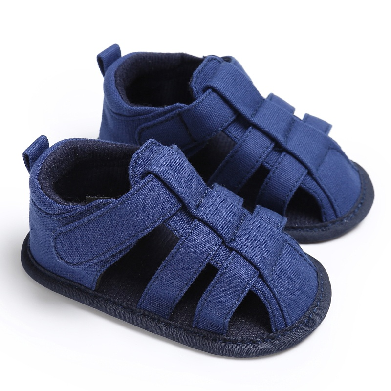 2017 new Baby Summer Boys fashion Canvas sandals Sneakers Infant shoes 0-18 M baby sandals