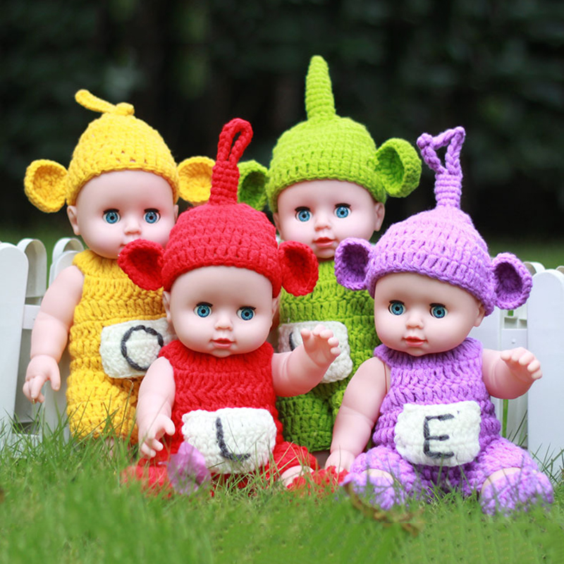 Four Styles 30CM Soft Vinyl Silcone Lovely Lifelike Reborn Baby Dolls Cheap Toys For Kids Collections Gifts ...
