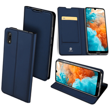 все цены на Original Dux Ducis Pu Leather Case For Huawei Y6 Pro 2019 Coque Luxury Thin Flip Wallet Case Cover For Huawei Y6 Pro 2019 Cases онлайн
