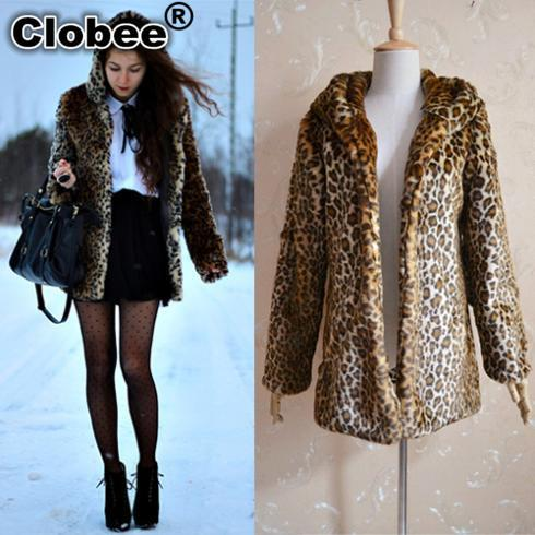 2018 Winter Faux Fur Coats Women Faux Fur Blazer Coat ce6acc496