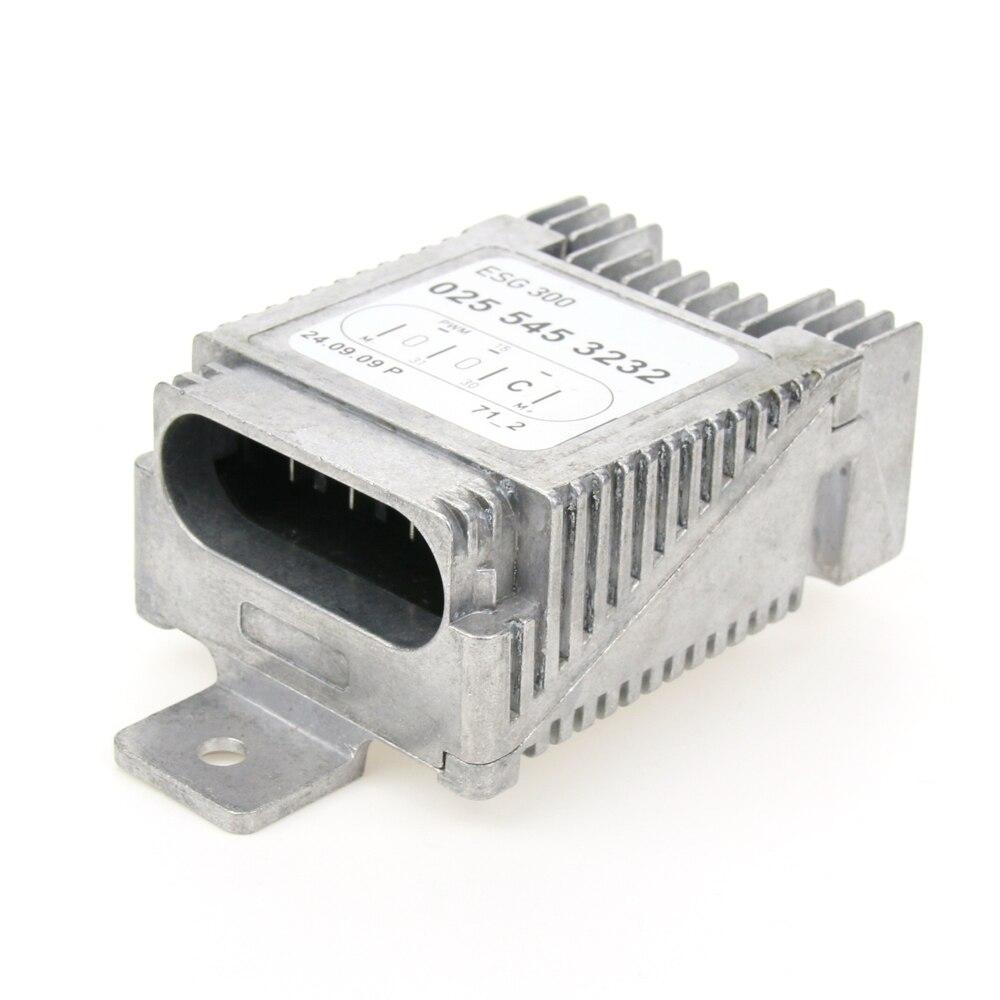 Haute Qualité Module de Contrôle Du Ventilateur pour Benz W210 W168 E430 E55 AMG E320 OEM 025 545 32 32 027 545 80 32 0255453232 0275458032