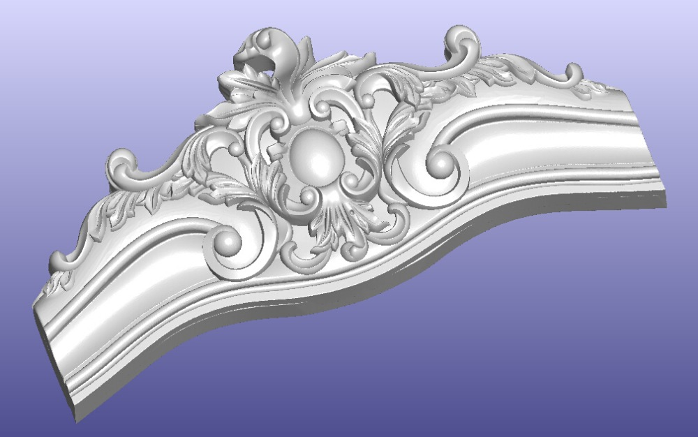 Sofa Bed Cabinet Part 3D Model STL File Design Patten Model Relief For Cnc Router WT-02 (199MB)