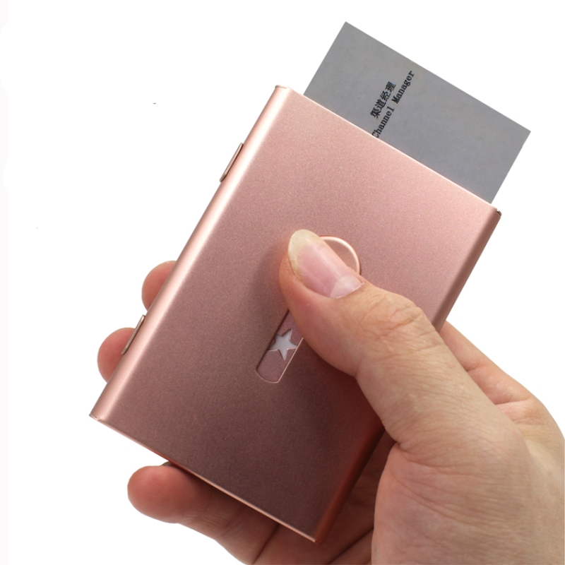 Creative Business name card Holder credit card holder rose gold ...