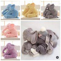 2017 Hot 5 Color Giant Baby Animal Elephant Stuffed Animal Toy 60CM Stuffed Elephant Plush Pillow