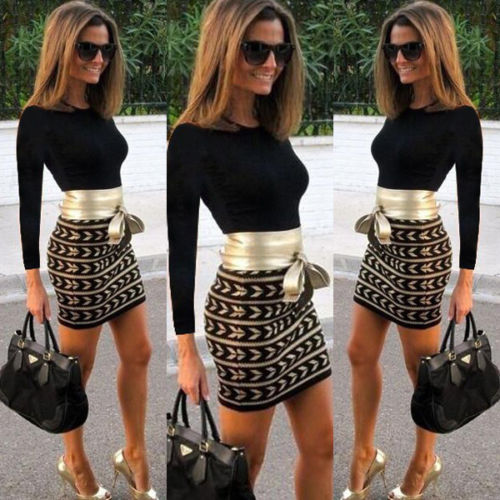 <font><b>2015</b></font> New Fashion Womens Bandage Bodycon <font><b>Sexy</b></font> Short Mini Dress image
