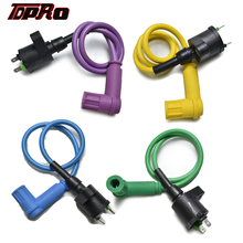 TDPRO New Dual Connect Racing Ignition Coil Green Blue Purple For Chinese ATV Quad Buggy 50cc to 180cc Motorcycle Pit Dirt Bike
