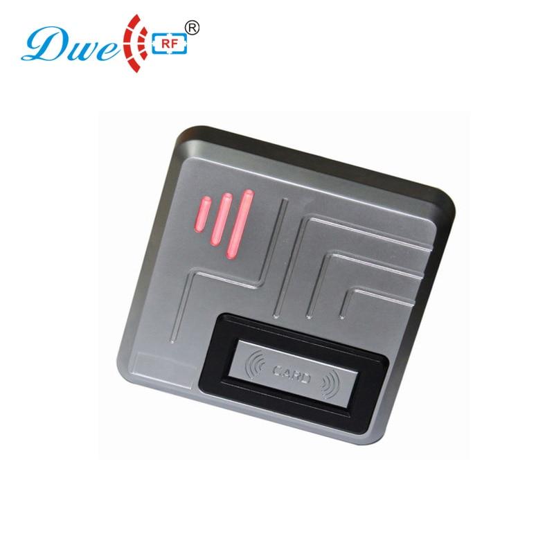 Lecteurs de carte de contrôle en métal étanche IP68 extérieur wiegand 34 bits 125 khz lecteur de carte RFID