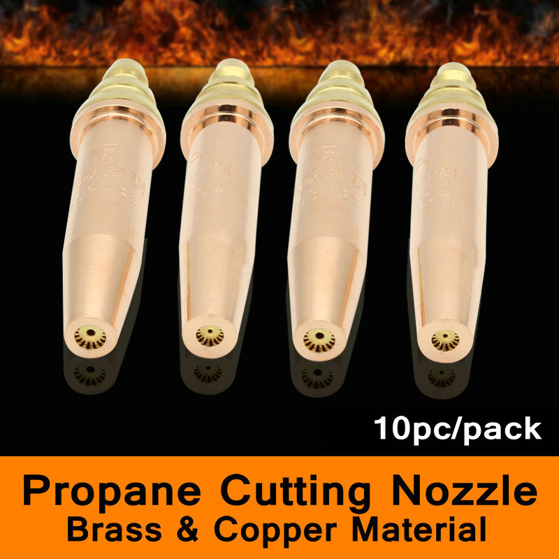 G03 Oxy Propane Isobaric Cutting Nozzle for Gas Machine Split Type CNC Flame Cutting Machine Brass and Copper Cu Material 10PC/P g01 100 acetylene oxygen cutting welding torch oxy acetylene oxy propane