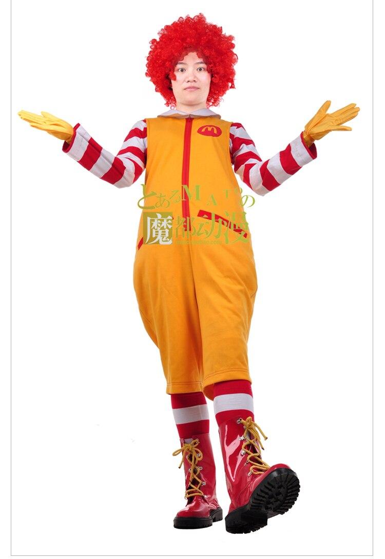 Ronald McDonald & Hamburglar Halloween Costumes