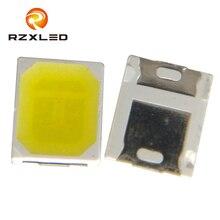 100Pcs / LOT LED SMD 2835 Чип 60mA 0.2W золотой провод 24-26LM Белый 2.8 * 3.5MM Светодиодная светодиодная лампа SMT для поверхностного монтажа