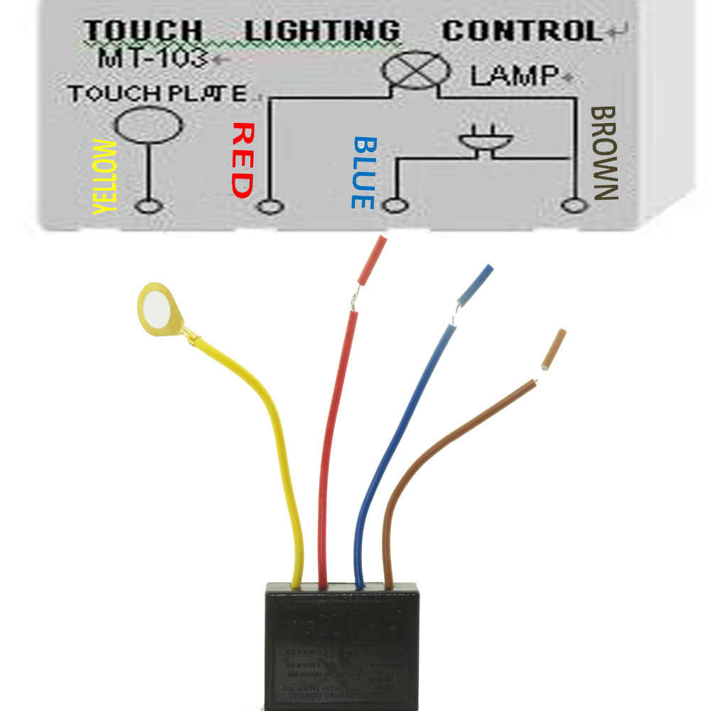 Enjoyable Detail Feedback Questions About 220V Touch Light Lamp Dimmer Switch Wiring Database Hyediarchgelartorg