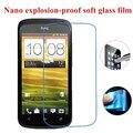 Нано взрывозащищенные (Мягкая Стекло) Ясный Протектор Экрана Передняя Защитная Пленка для HTC ONE S Z520E