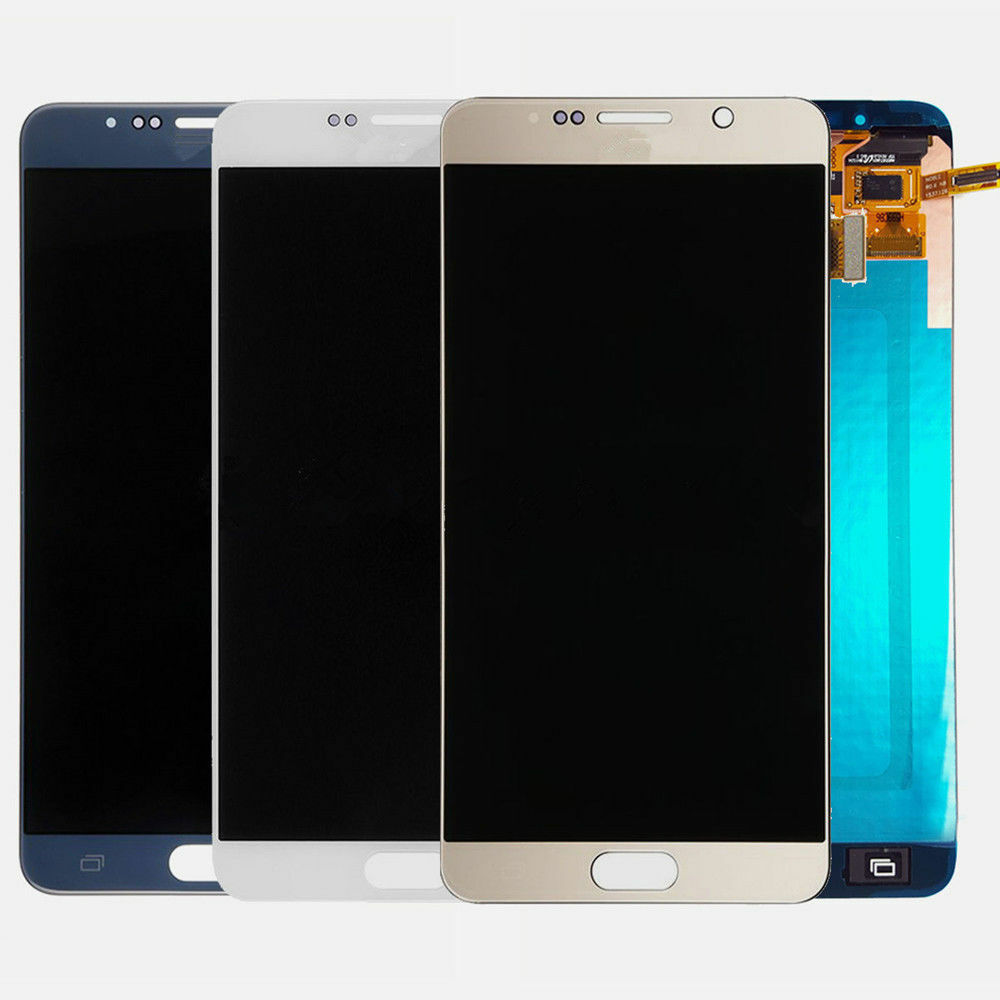 100 ORIGINAL Burn Shadow 5 7 LCD for SAMSUNG Galaxy Note 5 Note5 Display LCD N920