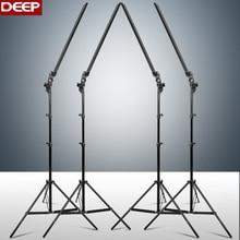 DEEP Photography Long Led Light Strip Photo Studio Lighting kit Photo Softbox Dimmer Switch 4pcs LED 4pcs Triod