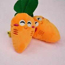 13 Дизайн Собака Игрушки Pet Puppy Chew Squeaker Скрипучий Плюшевые Звук Фрукты Овощи И Бутылочку для кормления, Игрушки
