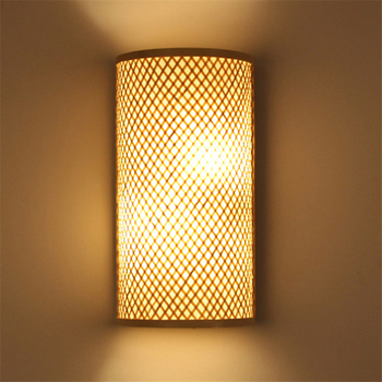 Bambus Lampe Kreative Chinesischen Japanischen Handgemachte Bambus Lampe  Wohnzimmer Wand Lampe Bambus Wand Lampe