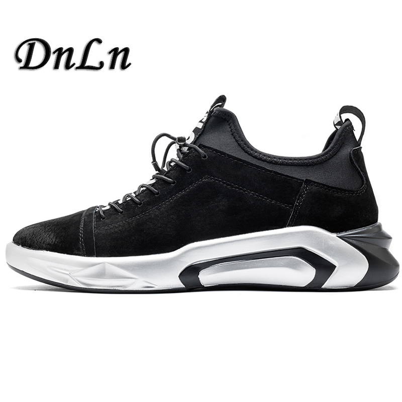 2018 Spring Men Trainers Sneakers Casual Men Shoes Breathable Leather Shoes Fashion Flats Male Leisure Men Shoes D30 spring autumn fashion men high top shoes genuine leather breathable casual shoes male loafers youth sneakers flats 3a