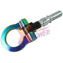 Xpower-Universal T2 JAPAN MODELS CAR RACING SCREW ALUMINUM CNC TOW TOWING HOOK JDM RACE NEO CHROME