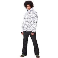 Зимние новые уличные мужские лыжные костюмы зимние ветрозащитные водонепроницаемые брюки теплая куртка мужской открытый костюм для горного туризма