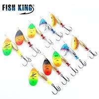 FTK Mepps Long Cast 5pcs Lot Fishing Lure Spinner Bait Fishing Tackle Artificial Hard Fake Fish
