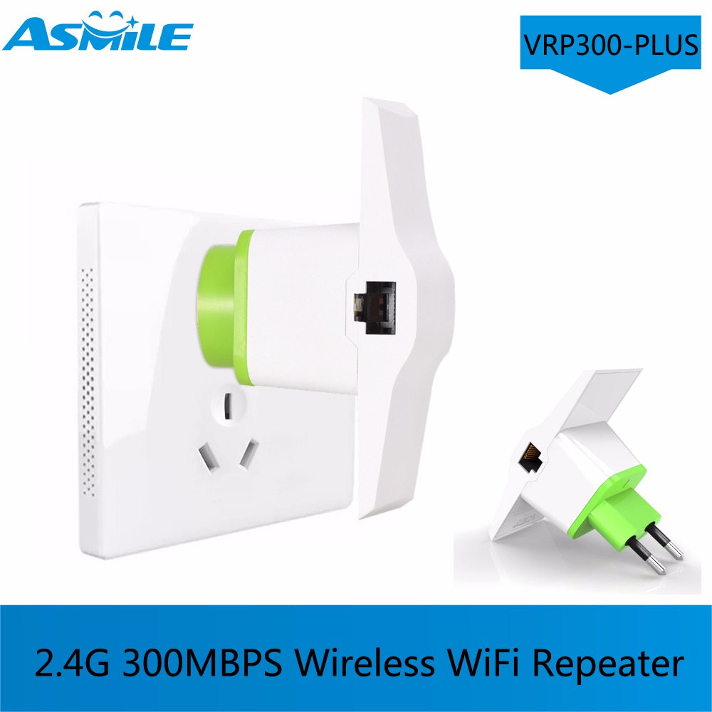 VRP300-PLUS Wireless Range Extender Signal Booster Support Access Point AP / Wifi Repeater Mode 2.4GHz 300Mbps