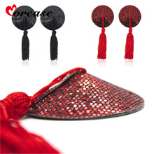 Tassel Nipple Cover Pads Chest Paste Sexy Breast Petals Stickers Bdsm SM Restraint For Women Adult