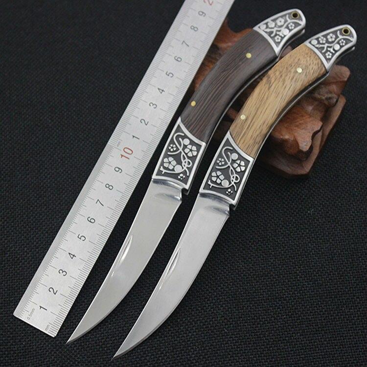 Цена за Браунинг 7CR17MOV Стальное Лезвие Складной Нож Деревянной Ручкой Ножи Выживания Охота Кемпинг Тактические Ножи Открытый EDC Инструменты K25
