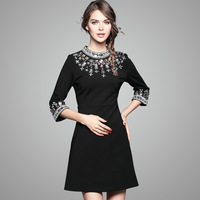 Brand Women Women Autumn Fashion Boutique Europe And The United States Big High End Heavy Duty