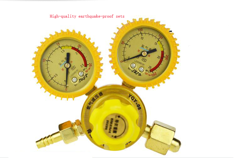Alloy Shockproof oxygen Pressure Reducer O3 Regulator Pressure Reducing Valve medical oxygen regulator pressure flowmeters hot sales