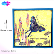 fairy buds Stamp Set Clear Rubber Stamps Building Transparent for  diy Scrapbooking Card Making Embossing Album Craft