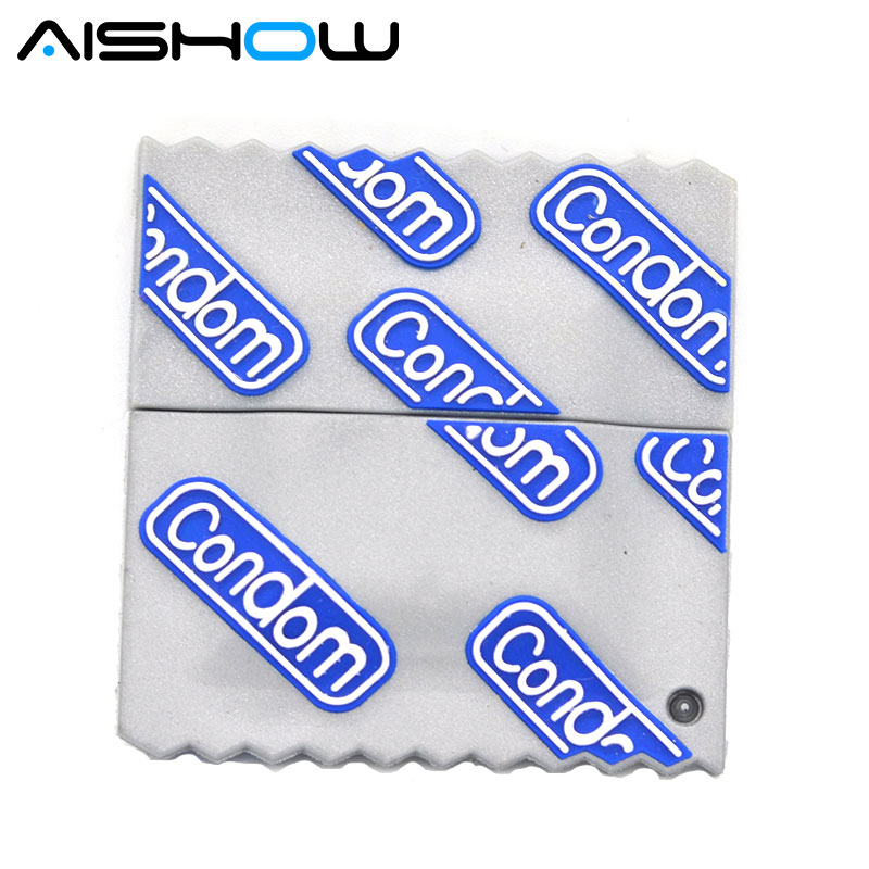 Hot Sale New Creative Sexy Love Condoms Memory Card Pendrives USB 2.0 High Speed Pen Drive 64GB/32GB/16GB/8GB USB Flash Drivesk