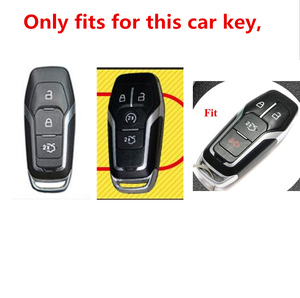 Image 5 - 2019 Soft TPU Key Cover Case For Ford Fusion Mondeo Mustang F 150 Explorer Edge 2015 2016 2017 2018 Car Styling Key Protection