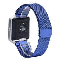 Excellent Quality Luxury Milanese Loop Strap Link Bracelet Stainless Steel Band For Fitbit Blaze Watch 42mm