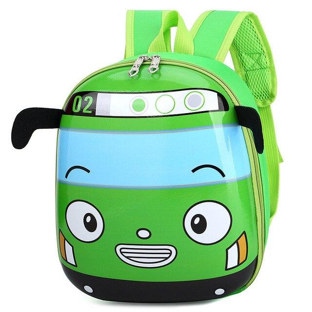 Cute Bus School Bag Backpack for Kids Children in 4 Colors 3