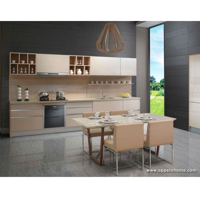 Modern Kitchen Shelf Design: Guangzhou Import Interior Custom Design Modern Kitchen