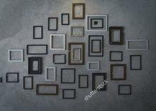 Cinza Montagem Na Parede Quadro da foto estúdio pano de fundo de Vinil de Alta qualidade Computador impresso pano de fundo de casamento