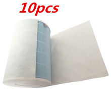 10PCS HEPA antibacterial anti-dust cotton for xiaomi air purifier 2 / 1 / Universal air conditioning filter cotton цена