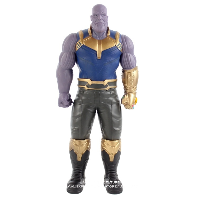 цена Disney Marvel Avengers 3 Thanos 33cm Action Figure Posture Model Anime Decoration Collection Figurine Toy model for children
