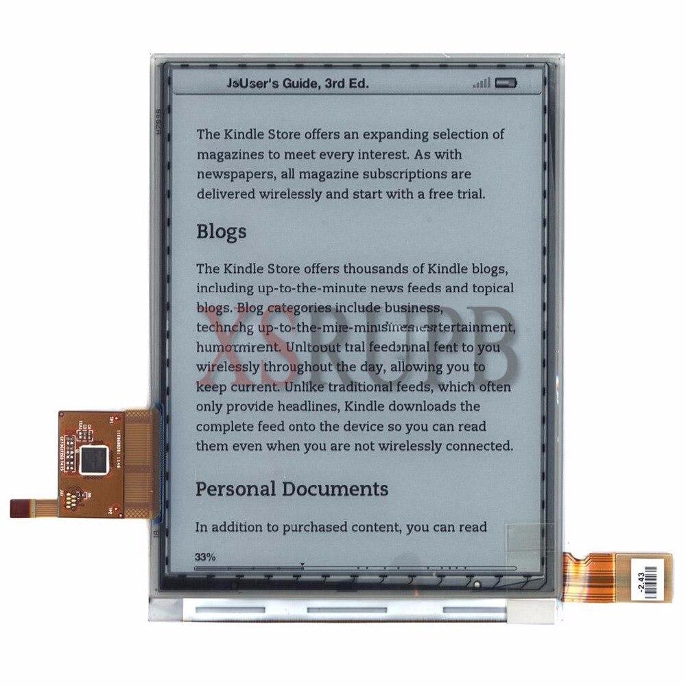 Nouveau écran lcd T1 ED060SCM (LF) de 6 pouces pour lecteur PocketBook Touch 622