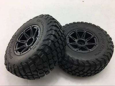120mm 1/10 RC Short Course Car Tire Set for Axial Yeti EXO 90050 90068 2pcs