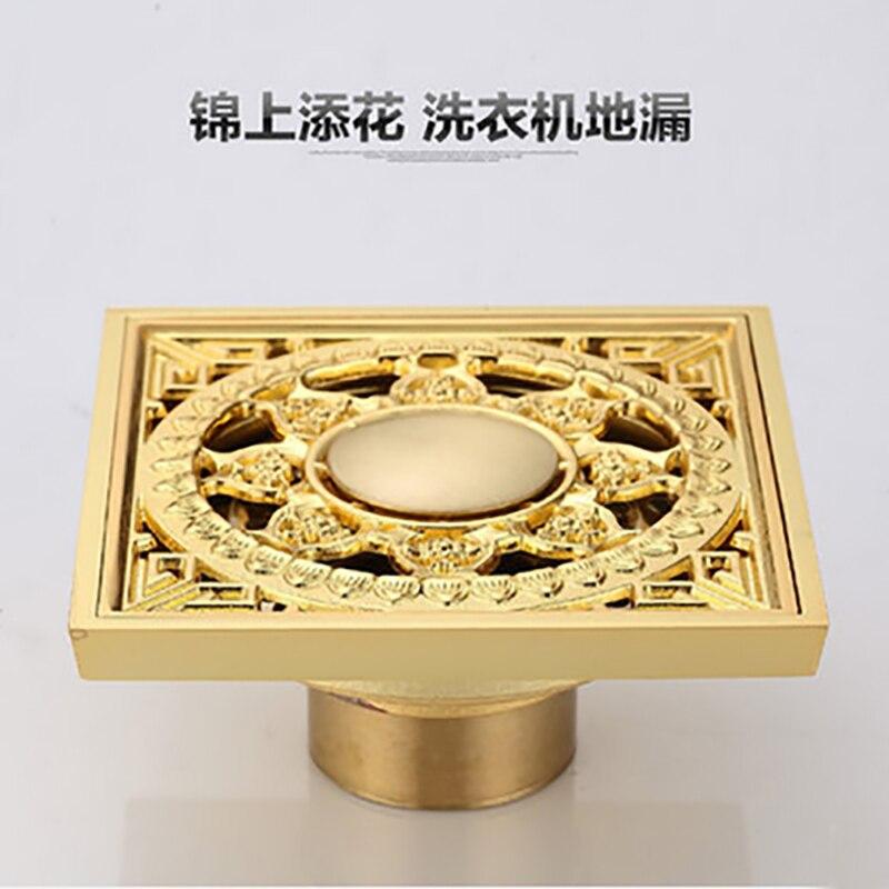 Hoge kwaliteit Totaal Messing goud afgewerkt tegen de stank art ...
