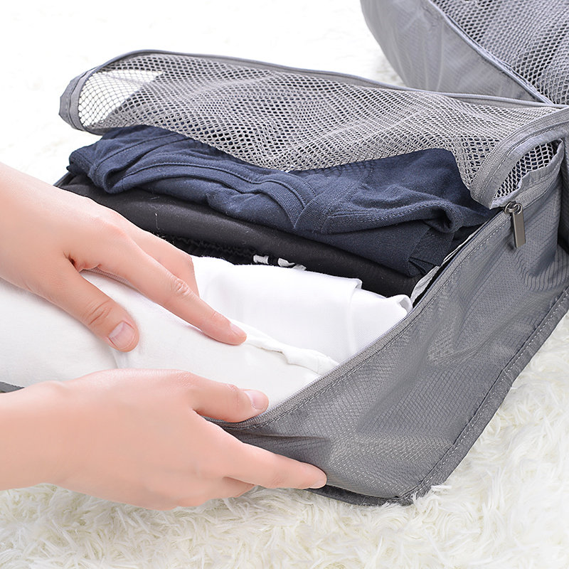 Xiaomi Ecosystem 90FUN Foldable Portable & Waterproof Storage Bag Holding Clothes Shirts Towels in Travel Trip Vacation ecosystem ecology