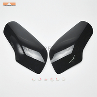 Motorcycle Smoke Headlight Lens Cover Shield Case for Honda GL 1800 GL1800 Goldwing 2001 2009 Black Blue Clear