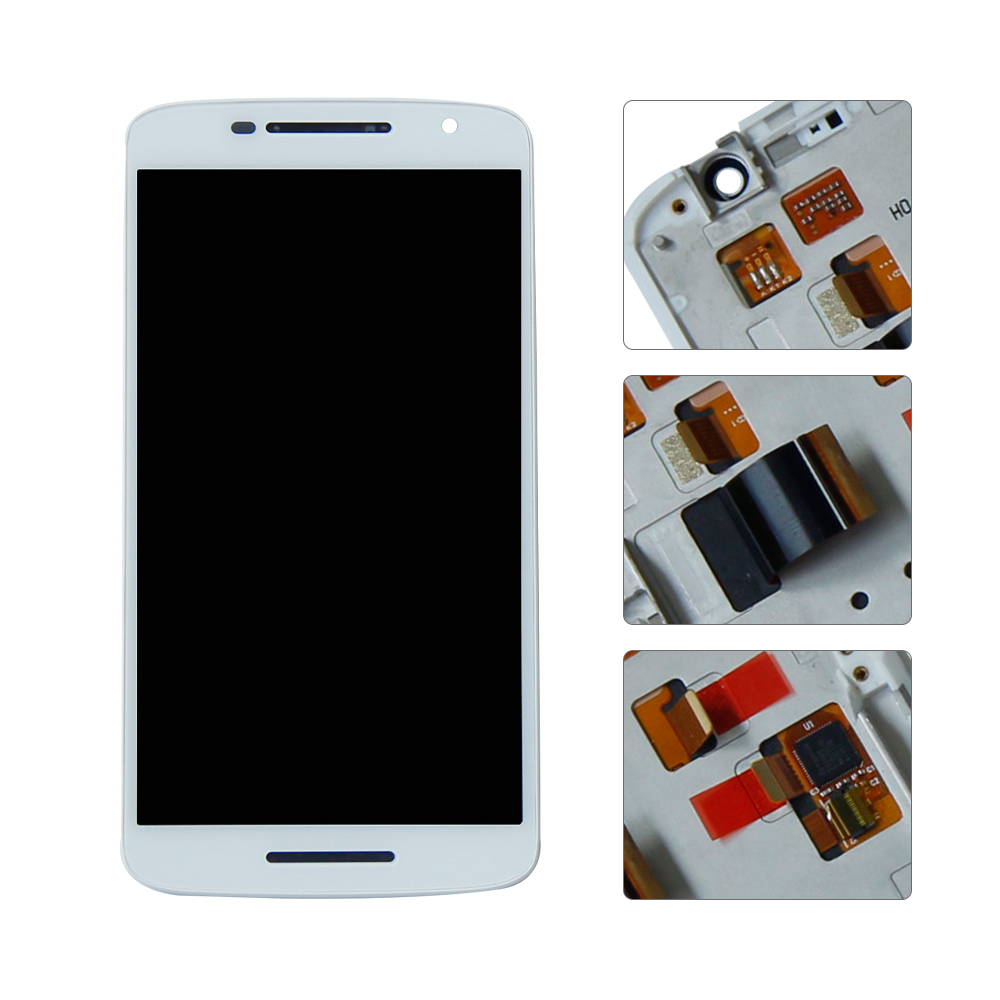 For Motorola Droid Maxx 2 XT1565 1920x1080 LCD Display Touch Screen Digitizer Assembly Replacement With FrameFor Motorola Droid Maxx 2 XT1565 1920x1080 LCD Display Touch Screen Digitizer Assembly Replacement With Frame