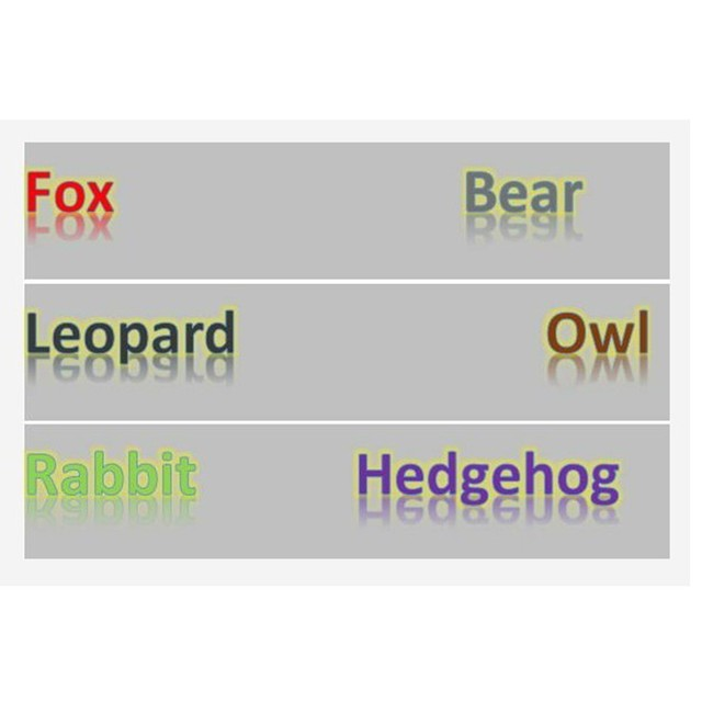 HOT 20cm super cute forest animal toy fox bear leopard owl rabbi hedgehog for chrismas gift