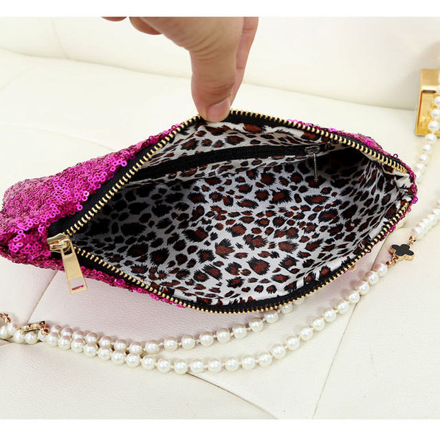 Fashion Clutch Dazzling Sequins Glitter Sparkling Handbag