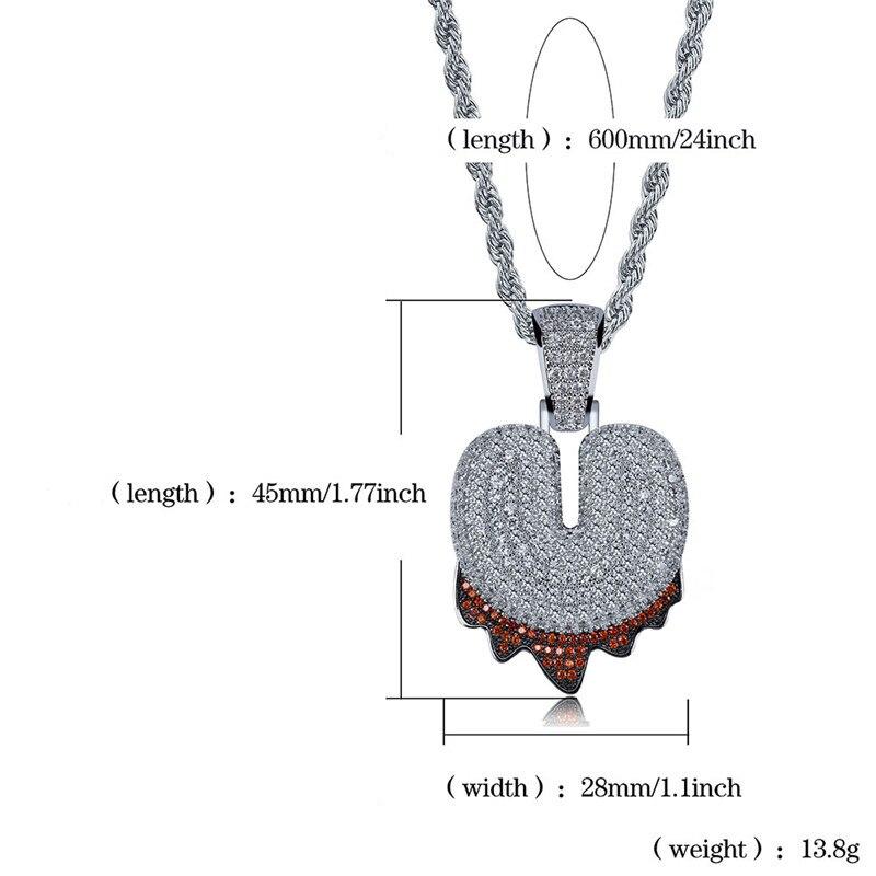 bubble letter necklace74
