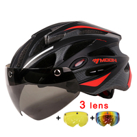 Ultralight 230g Cartoon Helmet MOON 31 Air Vents Cycling Helmet Intergrally Molded Bicycle Helmet For Men