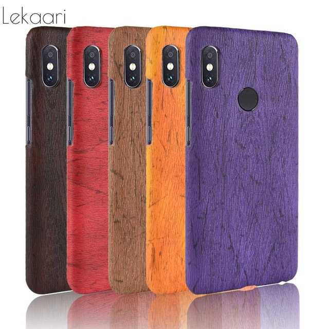 online retailer 682b5 07754 US $3.98 |Luxury Wood Grain Case Xiaomi Redmi Note 5 Pro Cover Hard Plastic  Back Phone Cases for Xiaomi Xiomi Mi A2 Redmi Note 5 Pro Case-in Fitted ...